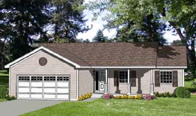 Plan Number 94444 - 1248 Square Feet