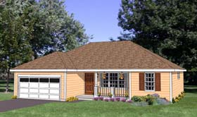Ranch House Plan 94446 Elevation