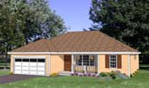 Plan Number 94446 - 1296 Square Feet