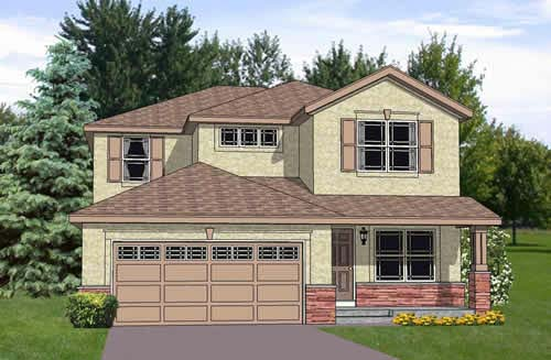 Traditional House Plan 94449 Elevation