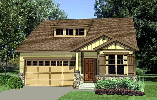 Craftsman House Plan 94453 Elevation