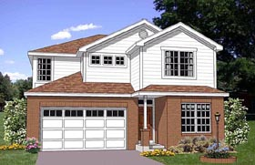Traditional House Plan 94455 Elevation