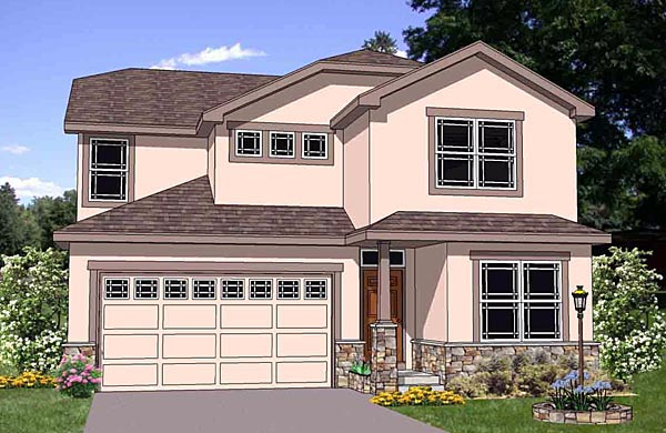 Traditional House Plan 94457 Elevation