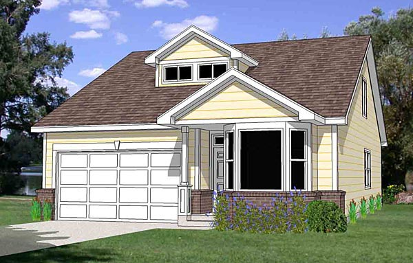 Traditional House Plan 94458 Elevation