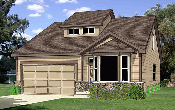 Craftsman House Plan 94459 Elevation