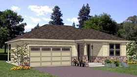Plan Number 94467 - 1202 Square Feet