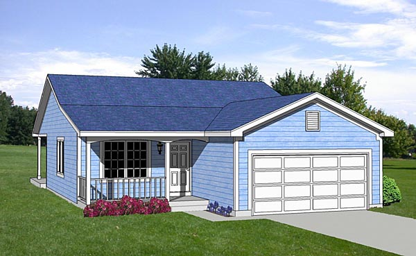 Traditional House Plan 94471 Elevation