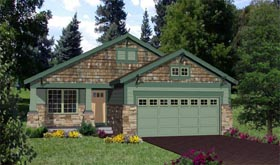 Craftsman House Plan 94472 Elevation