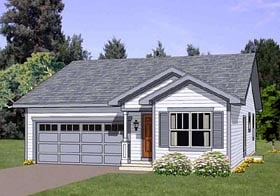 Traditional House Plan 94474 Elevation
