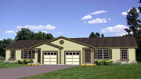 Multi family plan 94482 at for Multi family modular homes prices