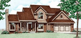 Country House Plan 94902 Elevation
