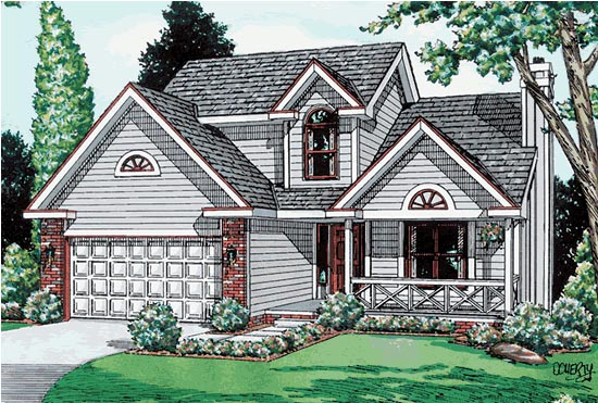 Country House Plan 94908 Elevation