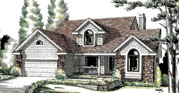 Bungalow Country House Plan 94911 Elevation