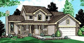 Country House Plan 94915 Elevation