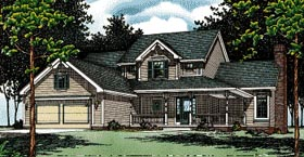 Country House Plan 94919 Elevation