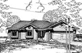 Plan Number 94927 - 1271 Square Feet