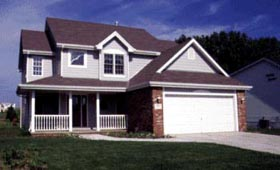 Country House Plan 94949 with 4 Beds, 3 Baths, 2 Car Garage Elevation
