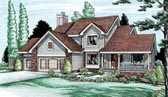Plan Number 94954 - 2498 Square Feet