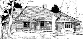 Traditional House Plan 94979 Elevation