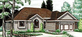 Traditional House Plan 94980 Elevation