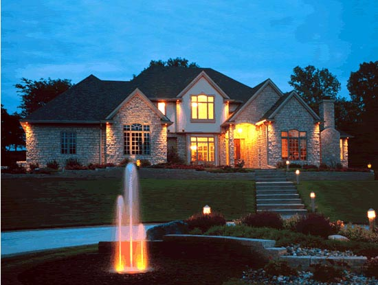 House Plan 94999 with 4 Beds, 5 Baths, 3 Car Garage Picture 1