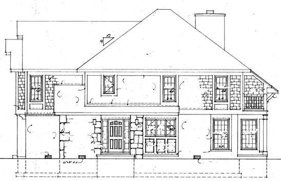 Contemporary House Plan 95014 with 4 Beds, 3 Baths Picture 2