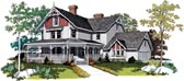 Plan Number 95030 - 3722 Square Feet