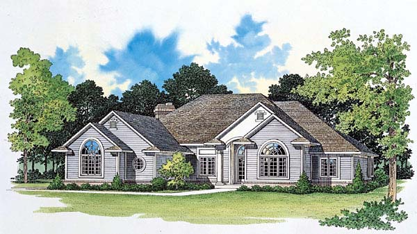 Traditional House Plan 95041 Elevation