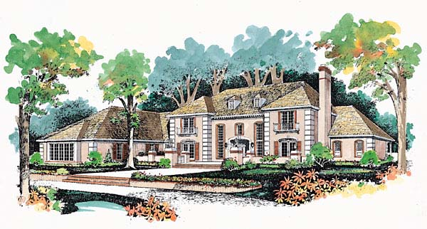 Traditional House Plan 95047 Elevation