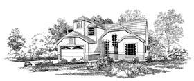 Mediterranean House Plan 95052 Elevation