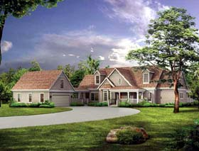 Traditional House Plan 95063 Elevation