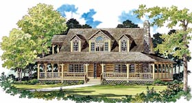 Country House Plan 95079 Elevation