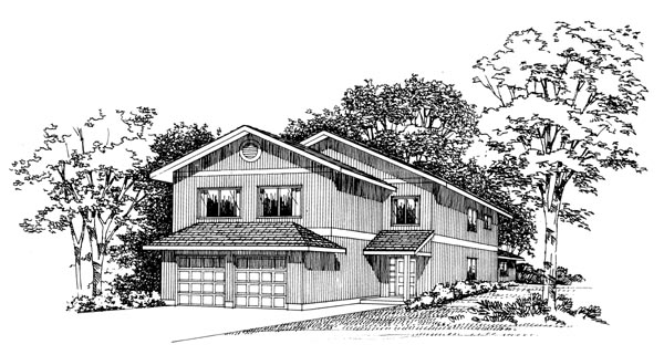 Ranch House Plan 95088 Elevation