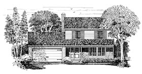 Country House Plan 95099 Elevation