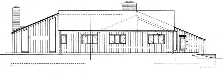 Contemporary, Retro House Plan 95111 with 4 Beds, 3 Baths, 2 Car Garage Picture 1
