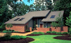 Contemporary House Plan 95122 Elevation