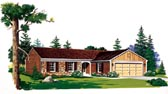 Plan Number 95144 - 1267 Square Feet
