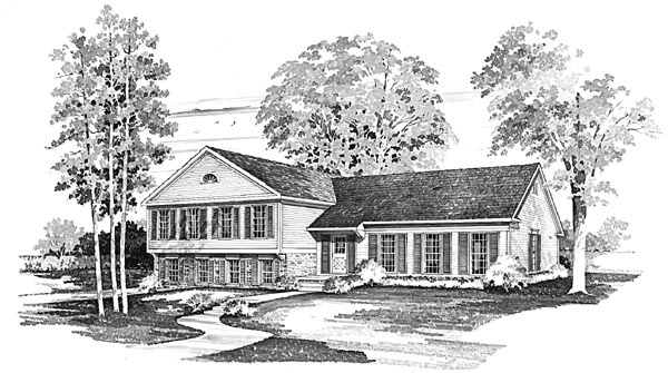 Traditional House Plan 95149 Elevation