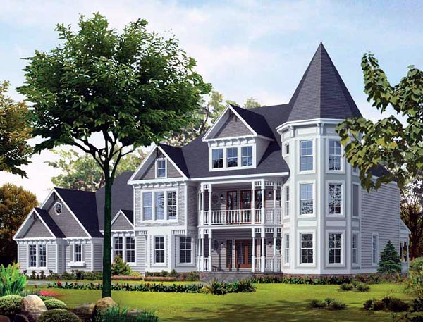 Victorian House Plan 95175 Elevation