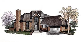 Contemporary House Plan 95177 Elevation