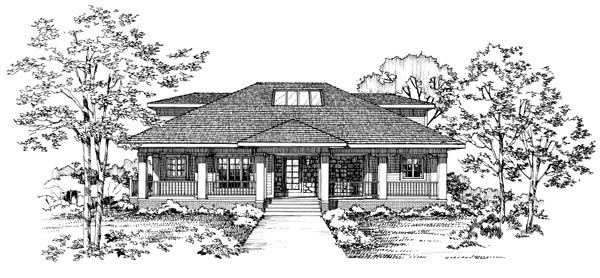 Colonial Traditional House Plan 95179 Rear Elevation