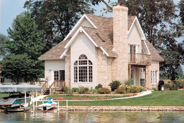 Traditional House Plan 95182 Rear Elevation