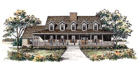 Plan Number 95195 - 3096 Square Feet