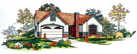 Plan Number 95198 - 1375 Square Feet