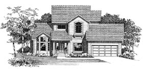 Plan Number 95204 - 1825 Square Feet