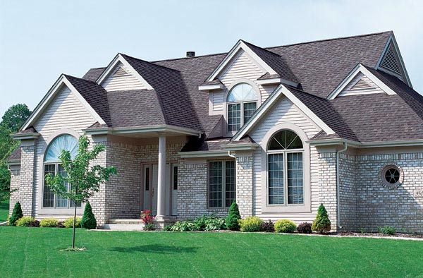 Traditional House Plan 95207 with 4 Beds, 3 Baths, 2 Car Garage Elevation