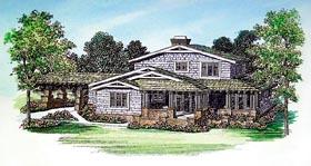Craftsman House Plan 95216 Elevation