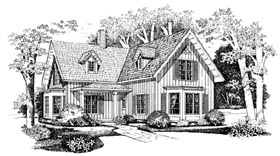 Country Traditional House Plan 95223 Elevation