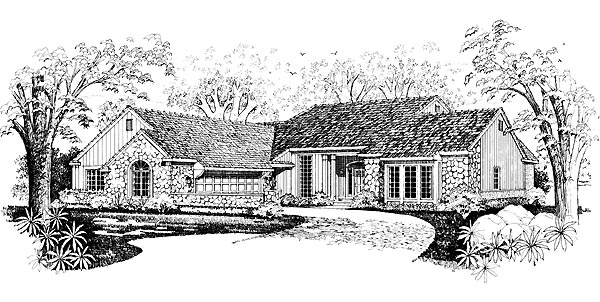 Traditional House Plan 95226 Elevation
