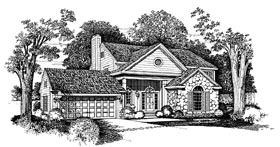 Plan Number 95230 - 2041 Square Feet